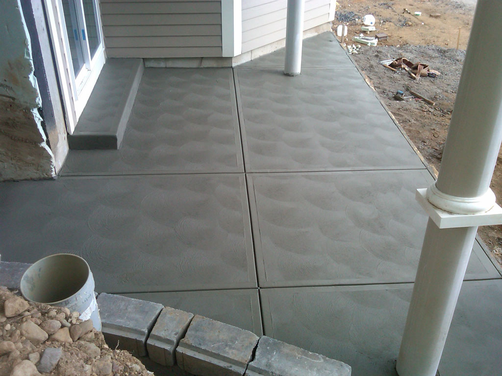 Lakehouse Patio, Walkway, And Stairs